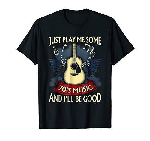 70s Music Rock And Roll Retro Vintage 1970s Music Shirt