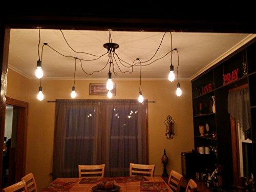 Foyer Decor Abu Dhabi : Kiven vintage head chandelier bulb pendant lights buy