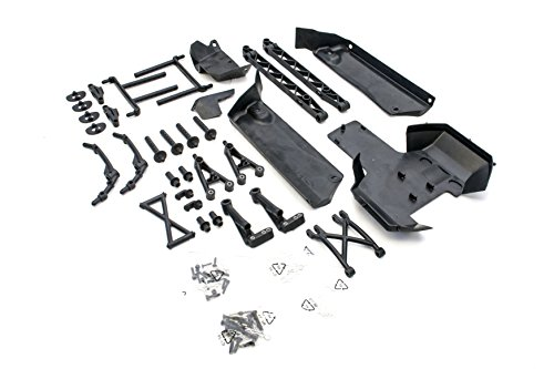 002 Vehicle Mounting Kit (King Motor Truck Body Mounting Conversion Kit Fits HPI 5b, SS or 2.0 and King motor KSRC-001 or KSRC-002 and Rovan buggies)