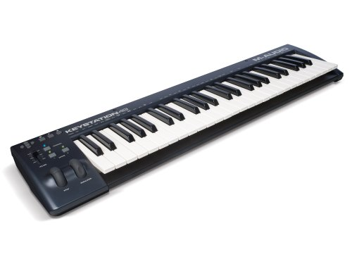 M-Audio Keystation 49 II | 49-Key USB MIDI Keyboard Controller with Pitch-Bend & Modulation Wheels - Image 7