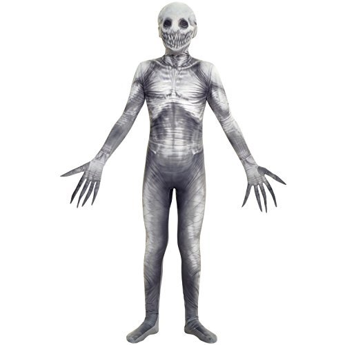 Morphsuits The Rake Urban Legends Kids Morphsuit Costume - size Large 4'-4'6 (120cm-137cm) Costume, Black]()