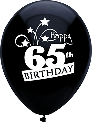 Image Unavailable Not Available For Color 65th Birthday Balloons