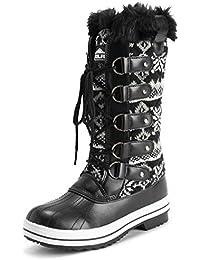 Women's Nylon Tall Winter Snow Boot