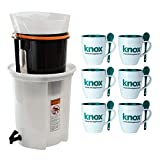 Brewista Cold Pro 4 Standard Cold Brewing System (BCP4STNSYS) Includes Set of 6 Mugs