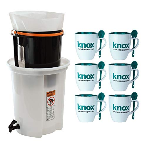(Brewista Cold Pro 4 Standard Cold Brewing System (BCP4STNSYS) Includes Set of 6 Mugs)