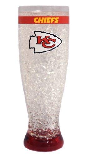 NFL Kansas City Chiefs 16oz Crystal Freezer Pilsner