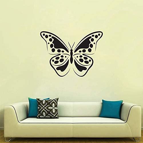 Geiqianjiumai Etiqueta engomada del patrón de Mariposa Vinilo removible salón Tatuajes de Pared Restaurante Dormitorio decoración de la Pared 42X31 CM: Amazon.es: Hogar
