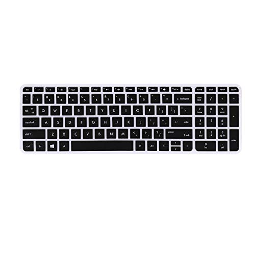 FORITO Keyboard Cover for HP Pavilion 17 17t /HP OMEN 17 /HP 17.3 Business Gaming laptop, HP Envy 17 M7 /HP ENVY 17 17t /HP Pavilion 15.6 (Black)