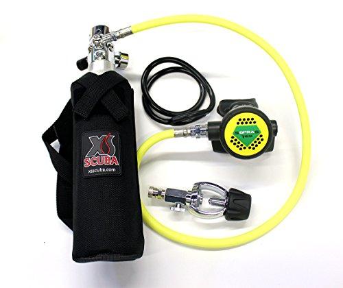 SoprasSUb Bailout Pony Bottle Diving Kit with Nylon Belt - Hose - 13 cf Tank - SPG Gauge - Regulator - Fill Adapter - Spare Secondary Air Scuba Dive Egressor