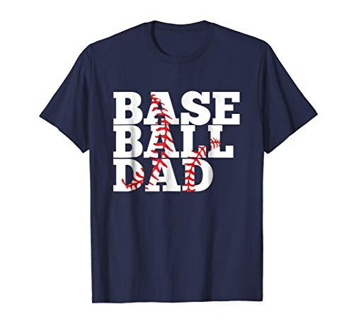 Mens Baseball Dad: T-Shirt for Baseball Dad XL Navy