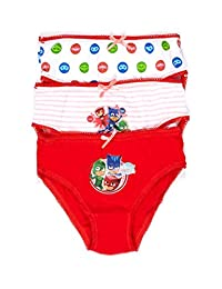 PJ Masks Girls Underwear 3-Pack Size 3T