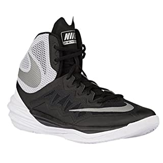 Nike Men's Prime Hype DF II Basketball Shoe BlackWhite