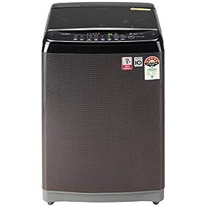 LG 8.0 Kg Inverter Fully-Automatic Top Loading Washing Machine (T80SJBK1Z, Black Knight)