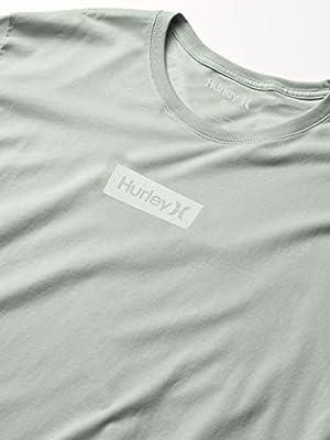 Hurley M O/&o Small Box S//S tee Camiseta Hombre