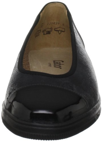 Gabor Petunia 56.402.17, Damen Ballerinas, Schwarz (Black), 37 EU / 4 UK