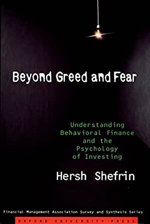 Beyond greed and fear hersh shefrin