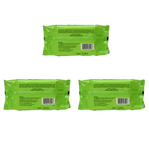 Garnier SkinActive Clean Refreshing Makeup Remover Wipes 3 Count