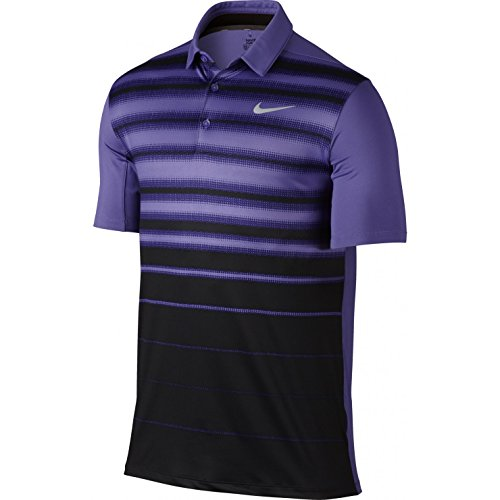 Nike Mobility Fade Stripe Men's Golf Polo