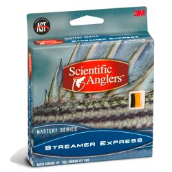 Scientific Anglers Mastery Streamer Express Fly Line 250 Grain/7-8 wt Surf/Grey (Mastery Streamer Express)