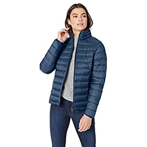 Amazon Essentials Women's Lightweight Water-Resistant Packable Puffer Jacket