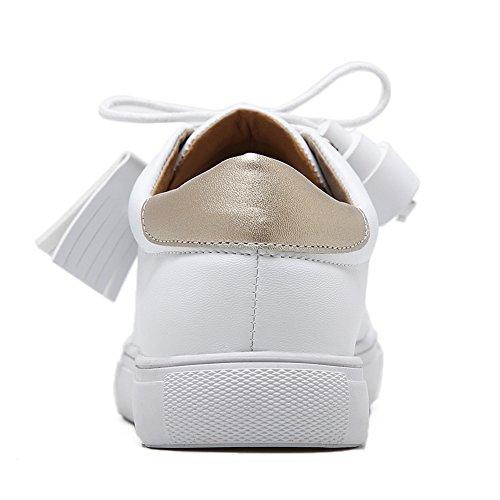 1TO9 1TO9Mmsg00047 - Sandalias con Cuña Mujer blanco