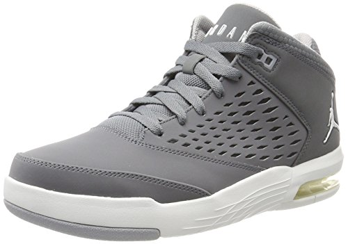 Nike Jordan Flight Origin 4, Scarpe da Basket Uomo Grigio (Cool Grey/Summit White/Wolf Grey)
