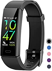 Mgaolo Fitness Tracker with Blood Pressure Heart Rate Sleep Monitor,10 Sport Modes IP68 Waterproof Activity Tr