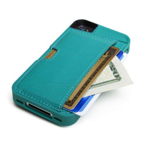 CM4 Q4 GREEN Wallet Apple iPhone