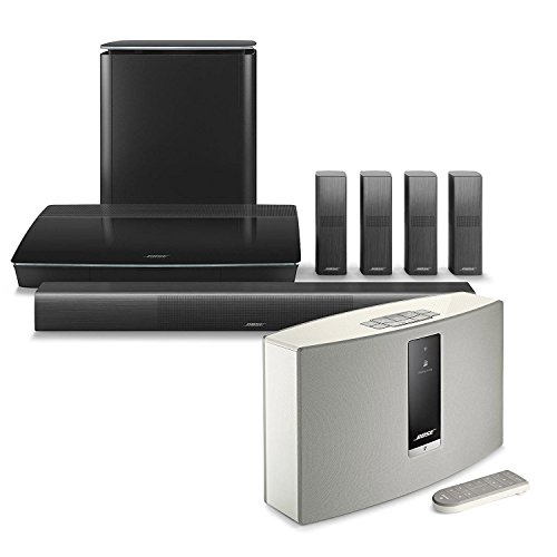 Click to buy Bose Lifestyle 650 Home Entertainment System, Black, with SoundTouch 20 Series III Wireless Bluetooth Speaker, White - From only $3999
