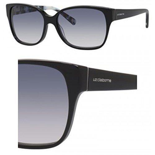Sunglasses Liz Claiborne 564 /S 0807 Black / AM gray gradient - Sunglasses Claiborne