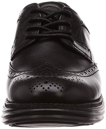 para 03 Brogue Cordones WT Mujer MBT W Boston Negro Black Zapatos de Sxq5P70w