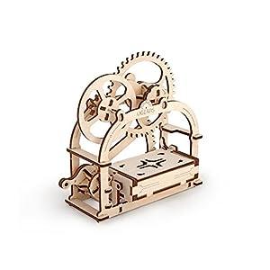 Ugears 70001 Mechanical Box Scrigno Meccaniche Kit Di Costruzione In Legno 3d Senza Colla
