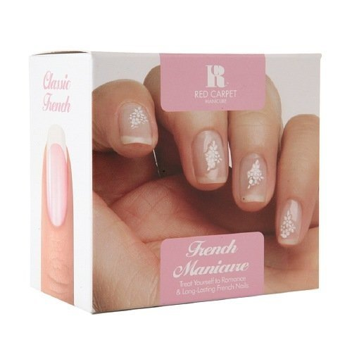 Red Carpet Manicure Nail Art Kit French Manicure 1 Set Buy Online