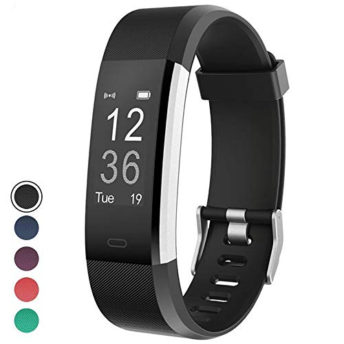 YAMAY Fitness Tracker, Fitness Watch Activity Tracker withHeart Rate Monitor, Sleep Monitor, Step Counter, Calories, 14 Sports Tracker, IP67 Waterproof, Slim Pedometer Watch for Men, Women and Kids (Best Non Bluetooth Fitness Tracker)
