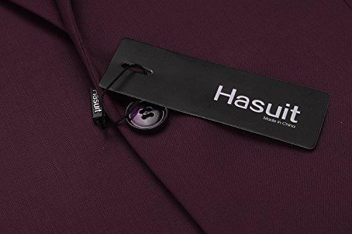 Hasuit Men's Casual One Button Slim Fit Stylish Blazer Coats Jackets Dress Suit by Hasuit (Image #5)