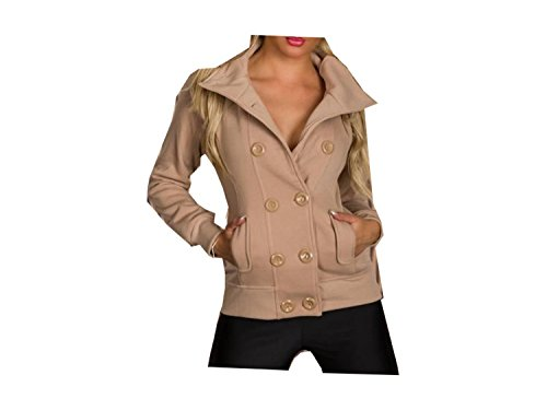 veste courte mode tendance sexy marron capuche fashion femme sweat