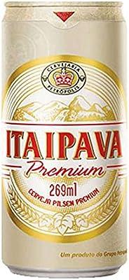 Cerveja Itaipava Premium, Puro Malte, Lata, 269ml 1un