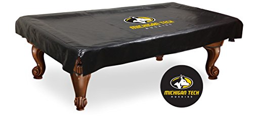 Michigan Tech Huskies Pool Table Cover-8 by HBS