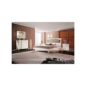 Chambre complète en bois massif composée d\'un lit 2 places, d\'une ...