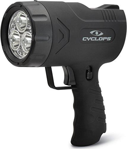 Cyclops SIRIUS 300 Lumen Handheld Spotlight w/6 LED Lights Cyc Light