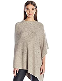 Women's Poncho with Jewel Embellishments