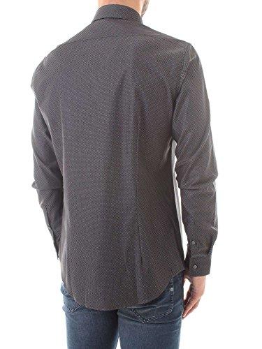 Shirts Calvin Homme K30K301334 Klein Gris PPqxZSEO