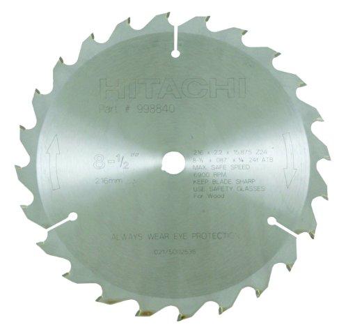 Hitachi 998840 24-Teeth Tungsten Carbide Tipped 8-1/2-Inch A