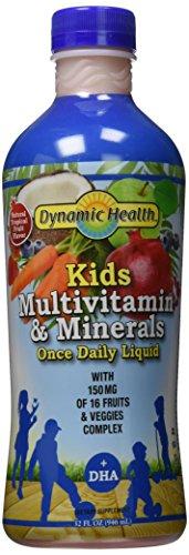 Les enfants de santé dynamique multivitamines et minéraux, 32 onces