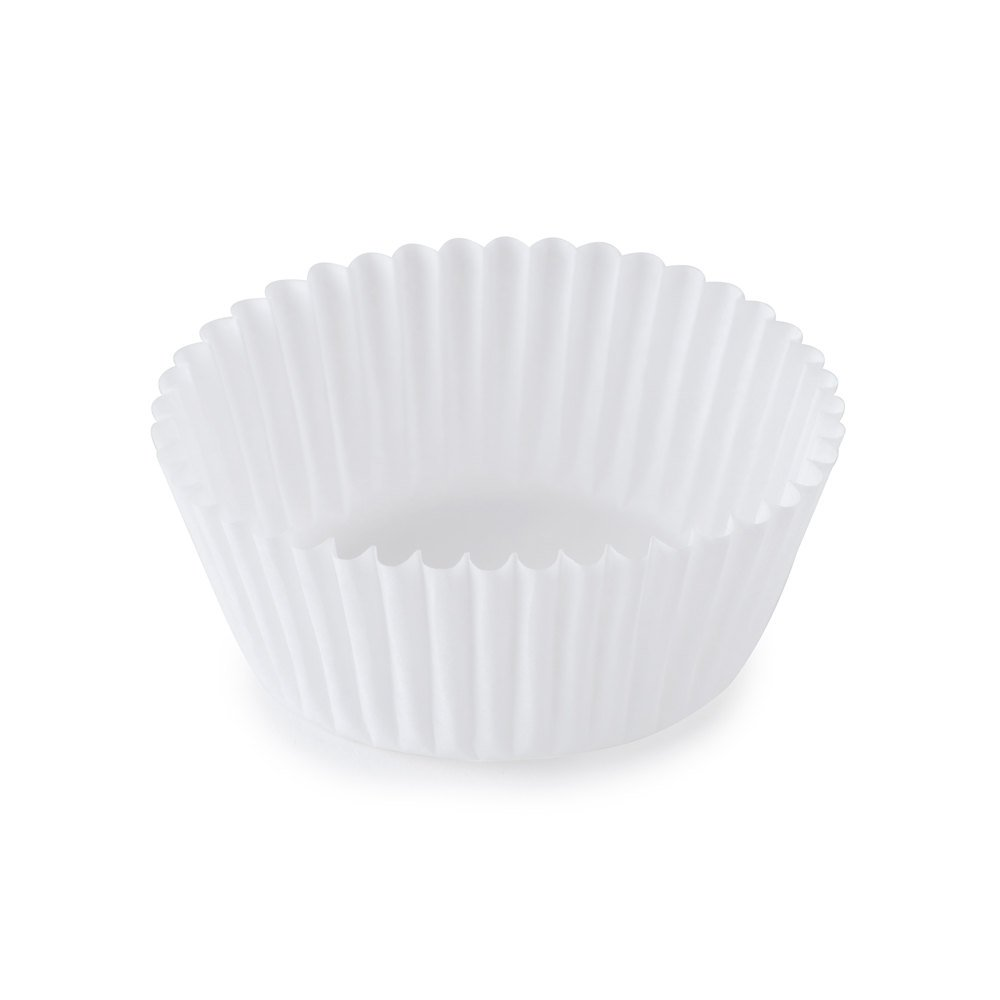 SafePro 5.5BCP, 5.5-Inch White Paper Baking Cups, Best Quality Standard Size White Cupcake Paper Liners (500) by Prosafe