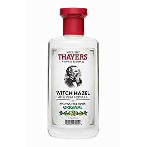 THAYERS Alcohol-Free Original Witch Hazel Facial Toner with Aloe Vera Formula – 12 oz