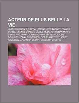cd7529872103 Acteur de Plus Belle La Vie  Jacques Ciron