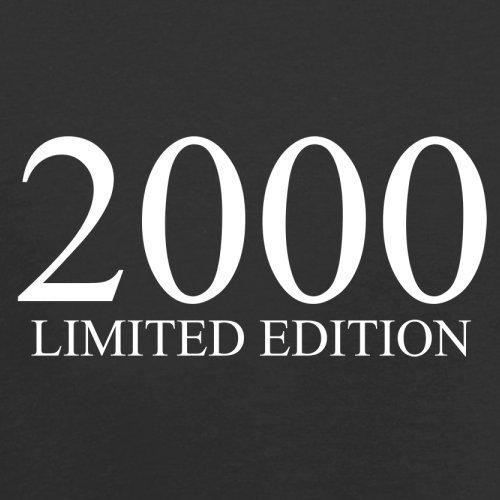 2000 Limierte Auflage / Limited Edition - 17. Geburtstag - Herren T-Shirt - Schwarz - XS