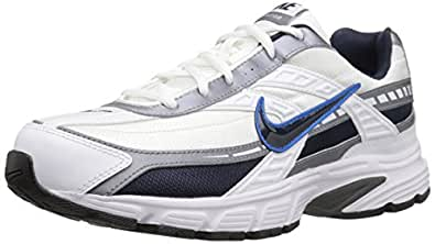 Nike Men's Initiator Running-Shoes, Black/Metallic Silver