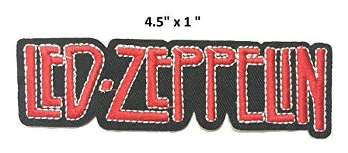 Set patch of Iron on Band Patches Rock Music Band #7,Led Zeppelin Patch,AC DC ACDC Patch,METALLICA Music Band Patch,Slipknot patch,Nirvana Patch,Rancid Patch,SLAYER Patch, Guitar Patch by BossBee